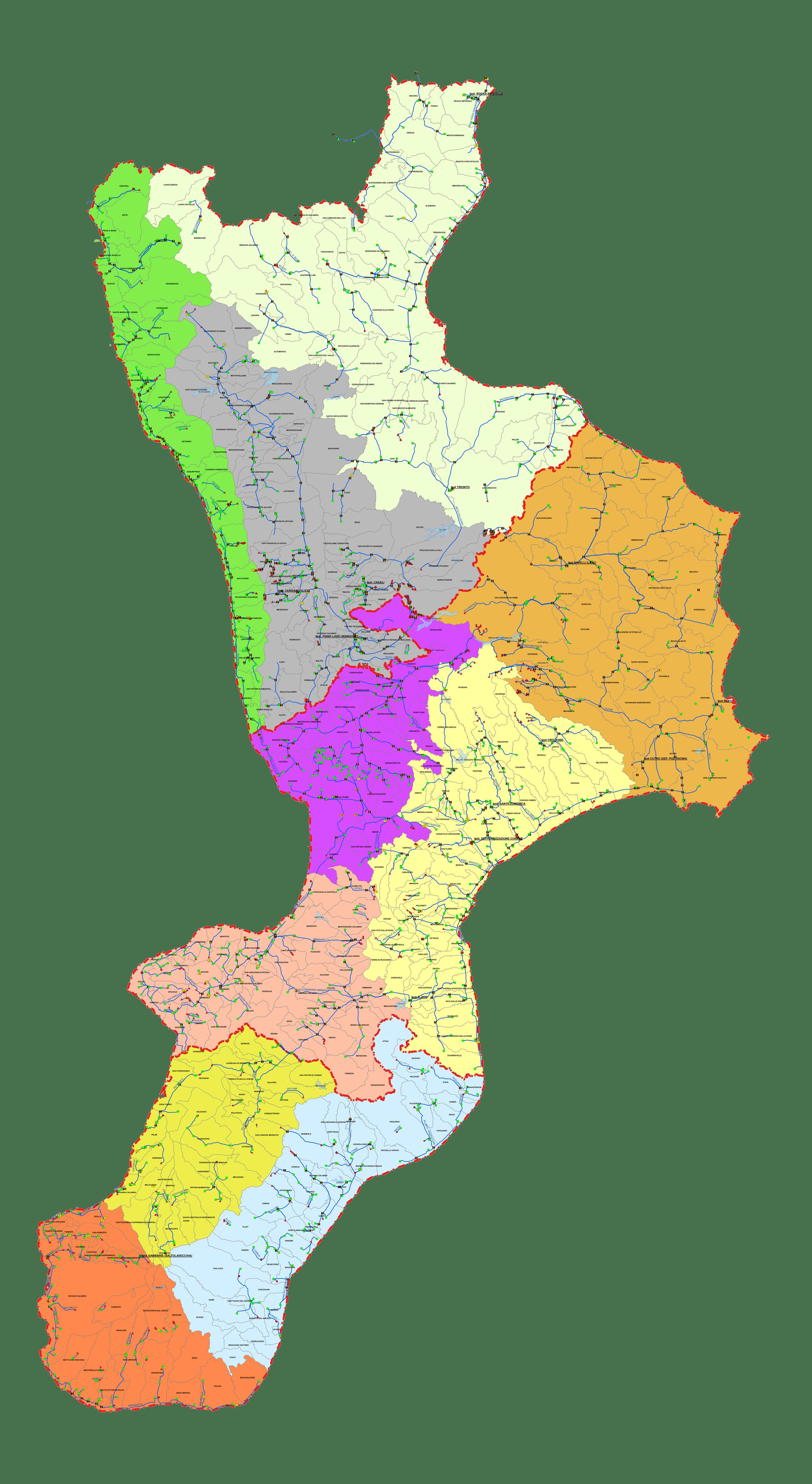 Schema acquedotti regionali CARTINA GENERALE pagina2
