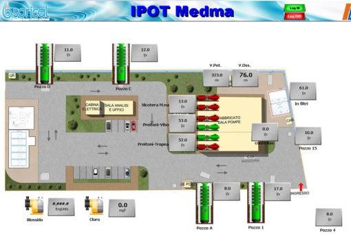 Medma, iniziata la costruzione della seconda sezione filtrante per abbattere ferro e manganese presente nella falda 07 1 510x340