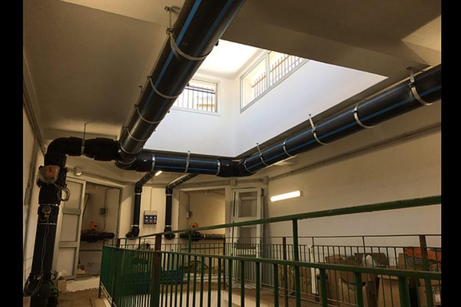 Disservizi a Reggio, in corso nuovi collegamenti idraulici al serbatoio Santa Caterina 19 2 900x600
