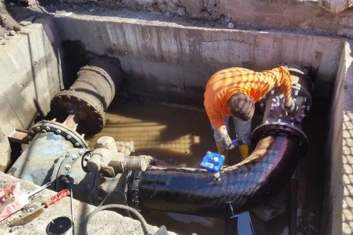 Collegato il serbatoio Trabocchetto, inizia erogazione acqua del Menta anche in centro a Reggio 23 1 510x340