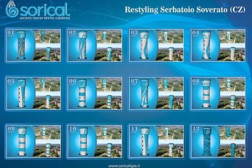 Ecco come sarà il nuovo serbatoio pensile di Soverato 42 1 510x340