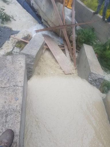 Reggio, riparata la condotta dell'acquedotto Tuccio 57 383x510