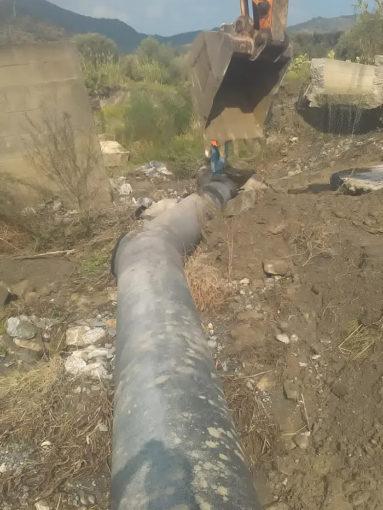 Reggio, riparata la condotta dell'acquedotto Tuccio 59 383x510