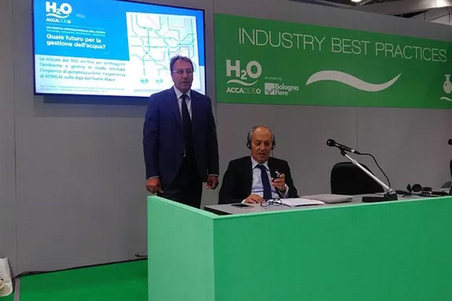 Sorical presenta a Bologna esperienza su impianto potabilizzazione Alaco 69 900x600