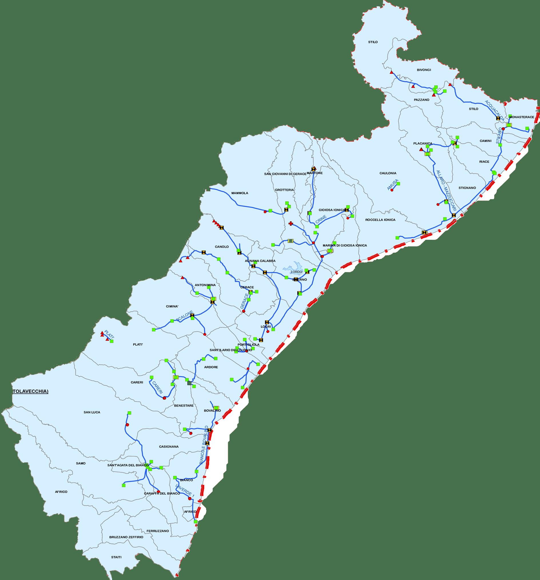 contatti sorical locri Sede operativa di Locri Locri sede di zona