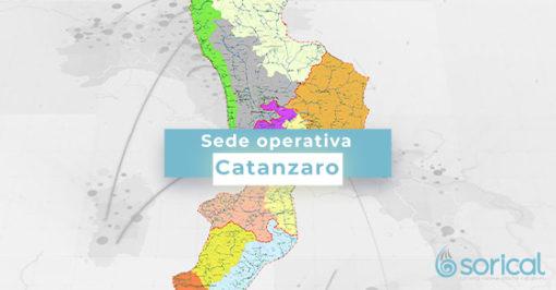 contatti sorical catanzaro Sede operativa di Catanzaro CATANZARO 510x266