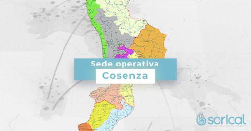 Contatti Sorical Cosenza contatti sorical cosenza Sede operativa di Cosenza COSENZA 510x266
