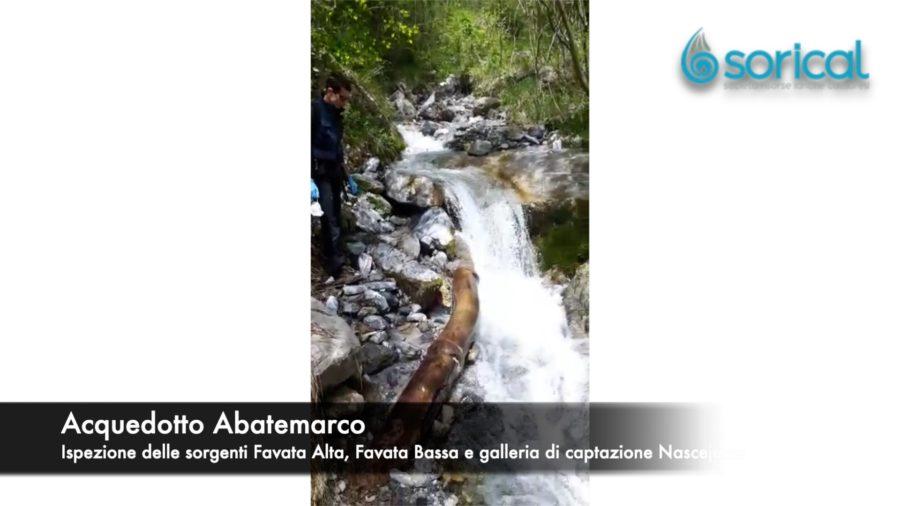 Siccità, ispezionate le sorgenti dell'Abatemarco Favata Alta 900x506