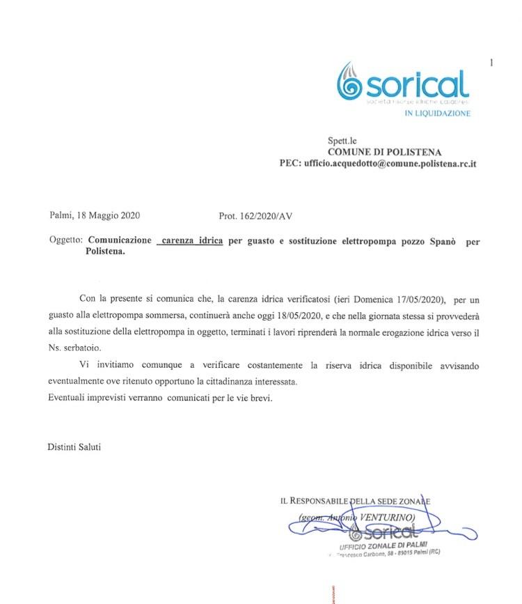 Polistena, carenza idrica per guasto elettropompa img 3891